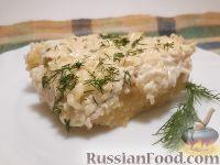 Фото к рецепту: Картофельно-сырная запеканка