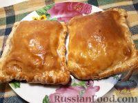 Фото к рецепту: Слоеные мини-пироги с вареньем