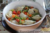 Фото к рецепту: Тушпара (пельмени по-казахски)