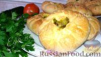 Фото к рецепту: Пирожки с мясным фаршем и картофелем