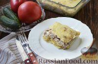 Фото к рецепту: Жульен с грибами и картофелем
