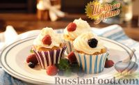 Фото к рецепту: Ароматные кексы