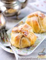 Фото к рецепту: Яблоки в слоеном тесте