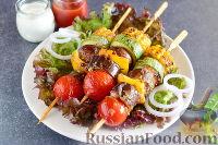 Фото к рецепту: Шашлык из овощей