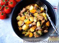Фото к рецепту: Овощное рагу с мясом
