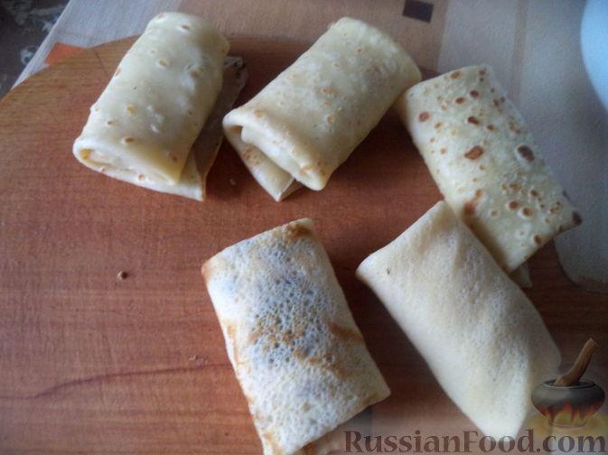 Фото приготовления рецепта: Манник на кефире (в микроволновке) - шаг №9