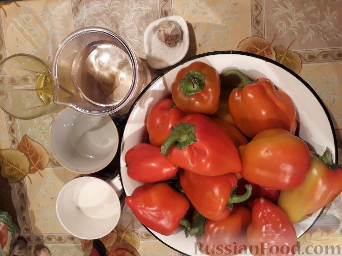 Фото приготовления рецепта: Перец резаный маринованный (простой способ) - шаг №1