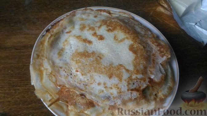 Фото приготовления рецепта: Рулетики из лаваша с яблоками - шаг №6