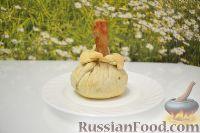 """Фото к рецепту: Куриные голени в """"мешочках"""""""
