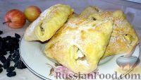 Фото к рецепту: Пирожки-конвертики с творогом