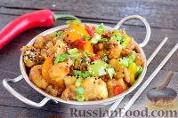 Фото к рецепту: Цветная капуста в кисло-сладком соусе