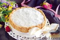 """Фото к рецепту: Кокосовый торт """"Нежность"""" (в микроволновке)"""