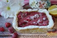 Фото к рецепту: Малиновый тарт
