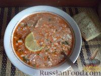 Фото к рецепту: Солянка сборная мясная (жидкая)