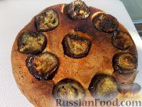 Фото к рецепту: Дрожжевой пирог с баклажановым припеком