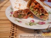 Фото к рецепту: Вкуснейшая шаурма