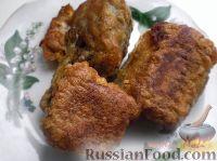 Фото к рецепту: Сочная жареная рыба в панировке