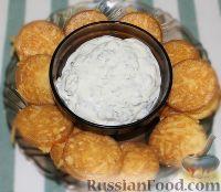 Фото к рецепту: Сырные чипсы