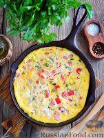 Фото к рецепту: Миш-маш (болгарский омлет)
