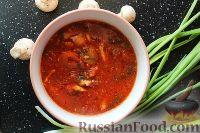 Фото к рецепту: Куриный суп по-азиатски