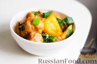 Фото к рецепту: Свинина с ананасами, по-азиатски