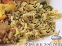 Фото к рецепту: Пряный рис басмати