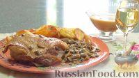 Фото к рецепту: Баранина, тушенная с грибами