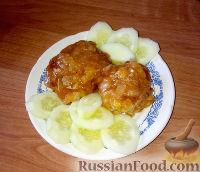 Фото к рецепту: Гречаники под заливкой