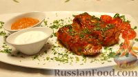 Фото к рецепту: Голубцы, запечённые под сметано-томатным соусом