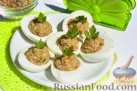 Фото к рецепту: Акутагьчапа (яйца, фаршированные орехами)