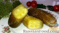 Фото к рецепту: Солёные огурцы (без уксуса)