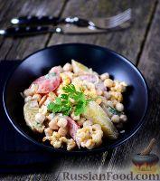 Фото к рецепту: Салат с нутом и пряной цветной капустой