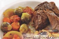 Фото к рецепту: Пряная говядина с овощами