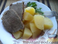 Фото к рецепту: Быстрое жаркое без лука (6 порций)