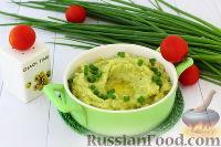 Фото к рецепту: Колканнон (ирландское картофельно-капустное пюре)