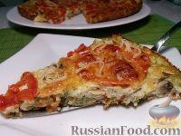 Фото к рецепту: Пицца из кабачков