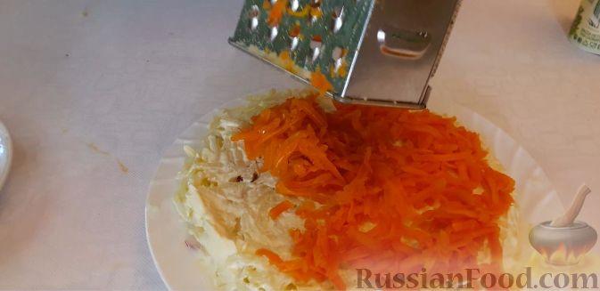 Фото приготовления рецепта: Картофель, тушенный с сосисками и фасолью - шаг №6