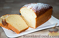 Фото к рецепту: Творожный кекс