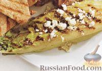 Фото к рецепту: Салат ромэн на гриле
