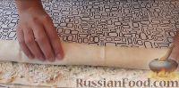 Фото приготовления рецепта: Рулеты из лаваша с крабовыми палочками - шаг №5