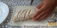 Фото приготовления рецепта: Рулеты из лаваша с крабовыми палочками - шаг №6