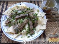 Фото к рецепту: Мясо по-казахски