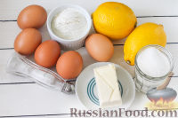 Foto receta de cocina: tarta de limón - un paso №1