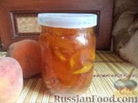 Фото к рецепту: Варенье персиковое