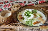 Фото к рецепту: Грибной суп по-чешски