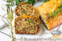 Фото к рецепту: Орехово-кабачковый кекс
