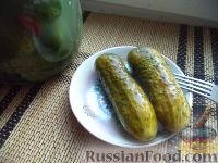 Фото к рецепту: Огурцы с горчицей