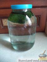 Фото приготовления рецепта: Водка огуречная «2 в 1» - шаг №3