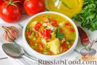Фото к рецепту: Постный рисовый суп
