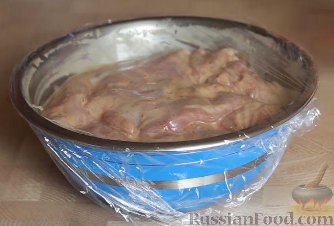 маринад из соевого соуса и майонеза для курицы